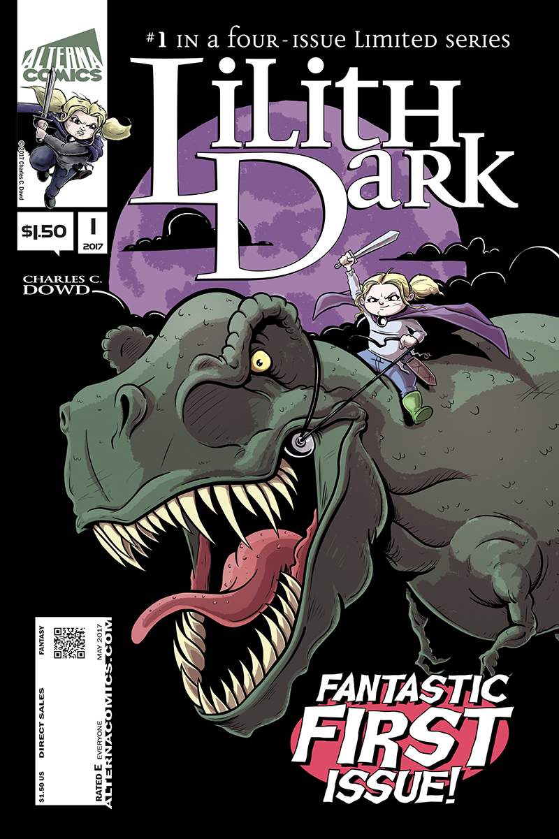 Lilith Dark Issue 1 Cover Art